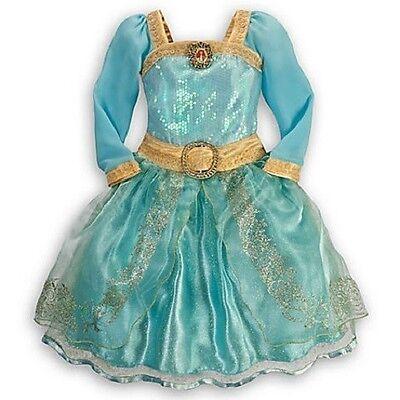 Brave Halloween Costumes Disney (Disney NWT Brave Merida Halloween Costume sz Small S  5/6 5 6 )