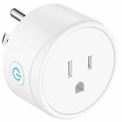 Mini Smart Plug Compatible with Alexa  Google Assistant and IFTTT  Remote Contro