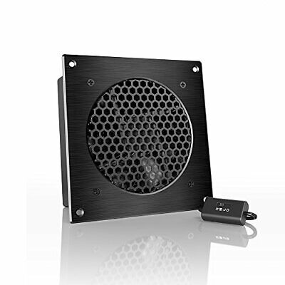 """AC Infinity AIRPLATE S3 Quiet Cooling Fan System 6"""" with Speed Control, for Home"""