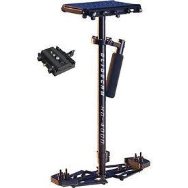 Glidecam hd 4000 hd4000 stabilizer with manfrotto camera mount. Very good condition. steadicam