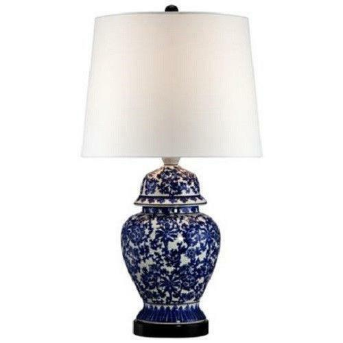 blue and white porcelain lamps ebay. Black Bedroom Furniture Sets. Home Design Ideas