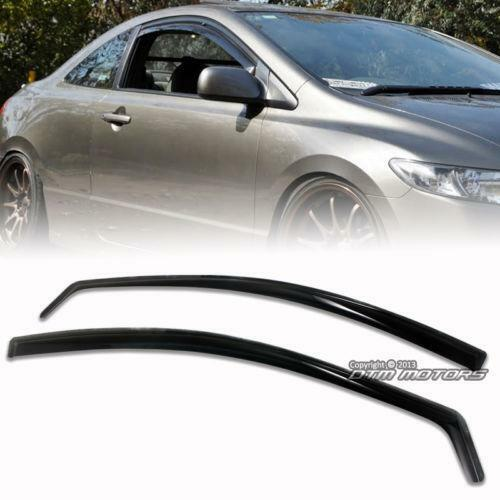 Civic coupe window visor ebay for 2000 honda civic rear window visor