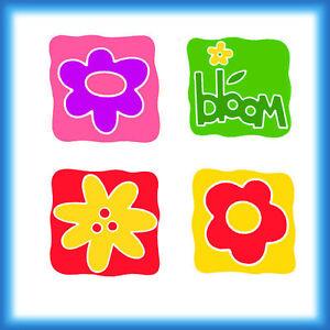 Sizzix Sizzlits 4-DOODLE DIES FLOWER SET Dies - $10