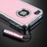 iPhone 4S Case Pink Diamonds