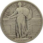 1917D Type 1 Standing Liberty Quarter