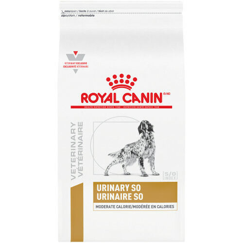 Royal Canin Veterinary Diet Urinary SO Moderate Calorie Dry Dog Food 17.6 lb