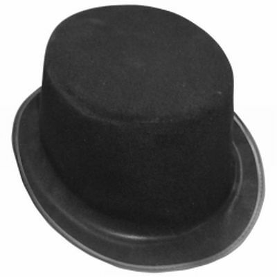 Economy Flocked Top Hat (Flocked Top Hat)