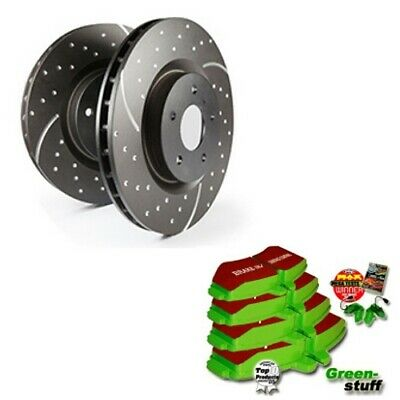 EBC B06 Brake Kit Front Pads Discs for Audi A4 8D B5 B7 Seat Exeo