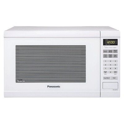 Panasonic 1.2 Cu.Ft. 1200 Watt Counter Microwave Oven - White NN-SN651W