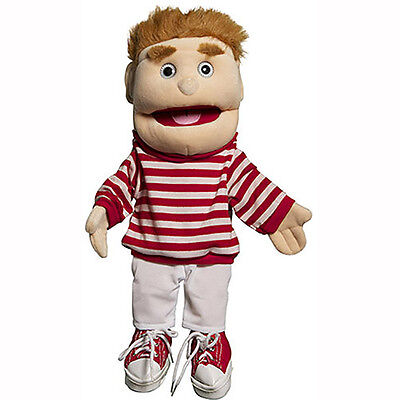 """Sunny Toys  Glove Puppet GL2101 14"""" Boy In Red Top Best Gift For Your (Best Gifts Top Toys)"""