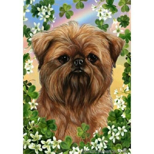 Clover House Flag - Brussels Griffon 31128