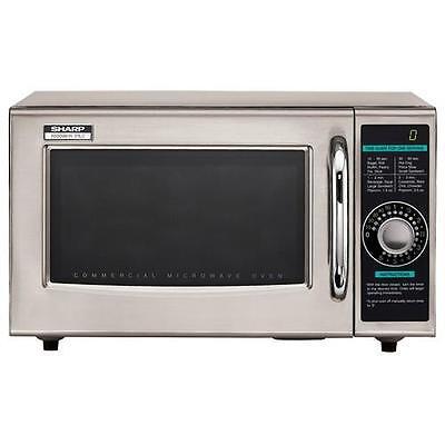 Sharp - R-21LCF - 1000 Watt Commercial Microwave Oven