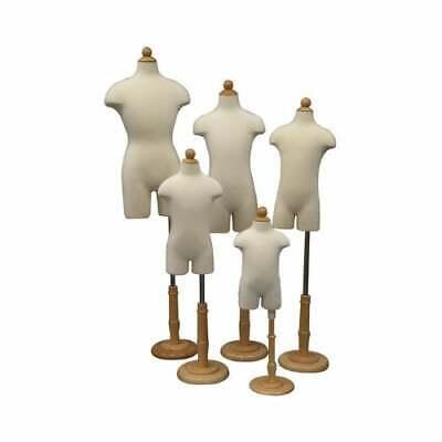 Toddler Kids Childrens Dress Form 34 Torso Body Form Mannequin - Group