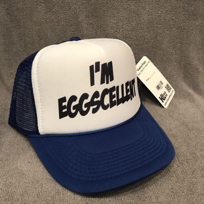I'M Eggscellent Truckerhut Vintage der Regular Anzeigen Promo Baseball Kappe (Anzeigen Baseball)