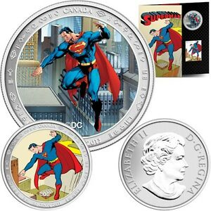 Lenticular Coin and Stamp Set - Superman™: Then and Now (2013)