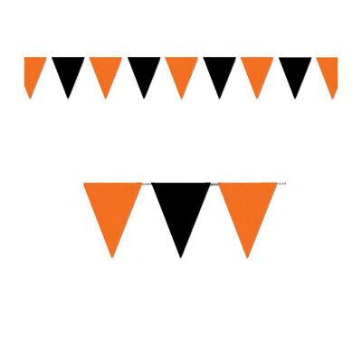 Outdoor Pennant Banner (Orange & Black Outdoor Pennant)