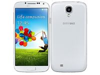 Samsung galaxy s4. 16gb. White, unlocked. As new, £105 fixed price