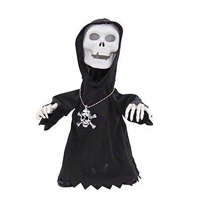 Halloween Skull Face Death Dance Toy Light & Music Party Decoration ~ - Halloween Dance Party Decorations