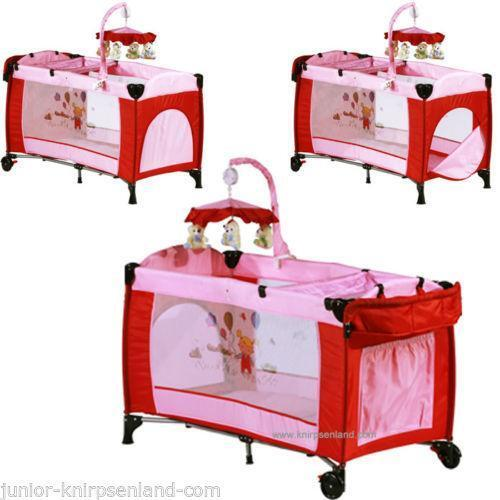 kinderbett klappbett babybett laufstall reisebett. Black Bedroom Furniture Sets. Home Design Ideas