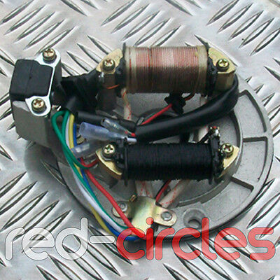 110cc 125cc 140cc PIT DIRT BIKE STATOR PLATE PICKUP MAGNETO COIL ROTOR PITBIKE