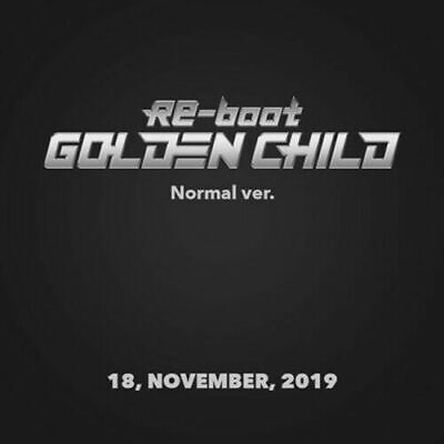 GOLDEN CHILD [RE-BOOT] 1st Album NORMAL CD+Photo Book+Calendar+Photo+Card SEALED