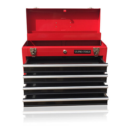 380 US Pro Tools Portable Toolbox Tool Chest Box Cabinet