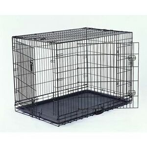 "30"" collapsible metal wire dog crate - excellent condition Killarney Heights Warringah Area Preview"
