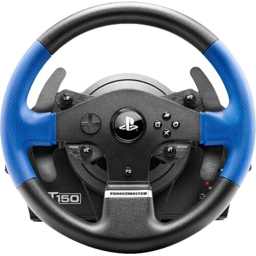 Thrustmaster - T150 RS Racing Wheel for PlayStation 4 and PC; Works with PS5 ...
