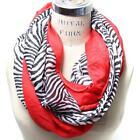 Red Zebra Scarf