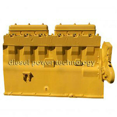 Caterpillar D353 Remanufactured Diesel Engine Long Block Or 34 Engine