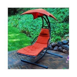 Chaise Lounge Hanging Patio Chair Hammock Umbrella Pool
