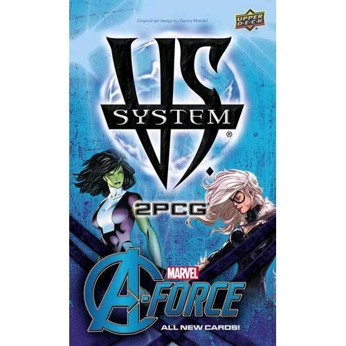 Marvel Vs System - 2PCG A-Force NEW Upper Deck