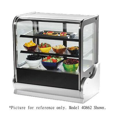 Vollrath 40867 60 Countertop Refrigerated Display Case - Cubed Case