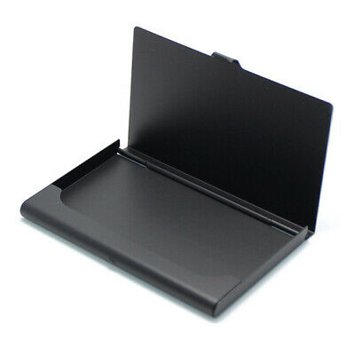 Aluminum Pocket Steelmetal Business Card Holder Id Case Credit Wallet Name Box