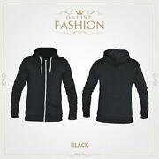 Black Zip Hoodie XXL