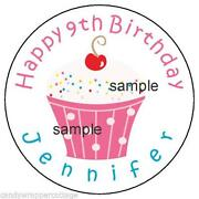 Personalized Birthday Stickers