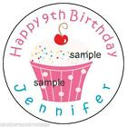 Personalized Birthday Stickers