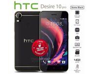 HTC Desire 10 Pro D10i 64GB Dual Sim 4G 4GB Ram SIM FREE/ UNLOCKED - Black