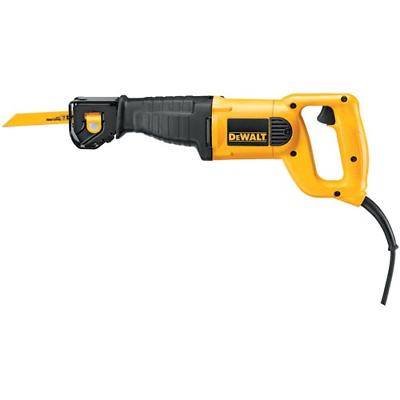 DeWALT DWE304 10 Amp Reciprocating Saw Tool Flush Cutting 4