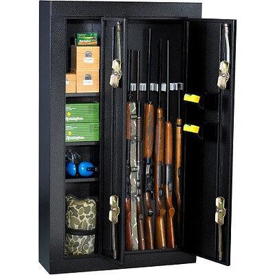 Homak 8-gun Double Door Black Steel Security Cabinet - Brand New