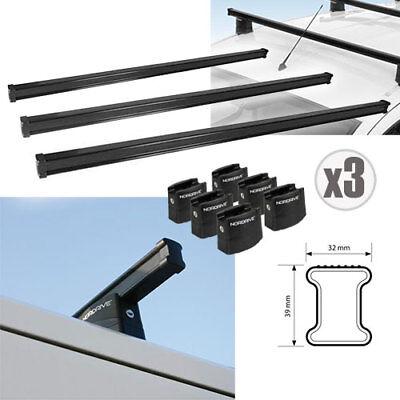 RE/&AR Tuning Per Fiat Ducato 2006-2021 Barre Portatutto Portapacchi Barre Tetto Alluminio Grigio
