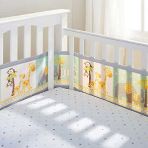 Breathable Baby Crib Liner