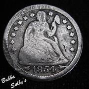 1854 Dime