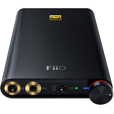 FiiO Q1 Mark II Portable USB DAC and Headphone Amplifier (Black) for sale  Shipping to India