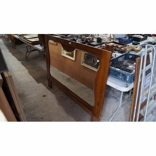 Large Decorative Wooden Framed Mirror Delivery Available