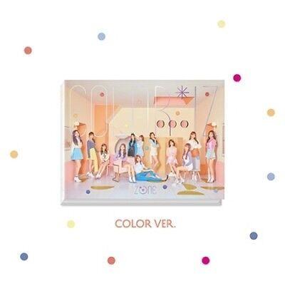IzOne-[Color*Iz]1st Mini Album Color CD+Book+Folding Cover+Card+Gift+Tracking