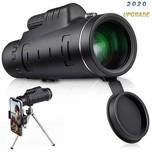 High Definition Monocular Telescope, 40x60 High Power Monocular with