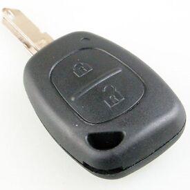 Renault Trafic / Master Van Key Fob Remote - cut and programmed