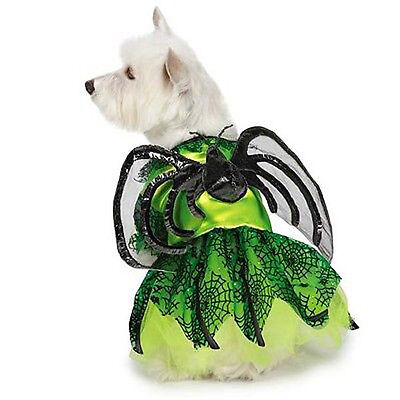 Dog Halloween Costume Neon Spider Princess Costumes Dress Pet BRAND NEW ](Halloween Dog Spider)