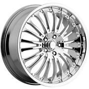 17 5x100 Chrome Wheels